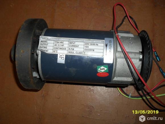 Электродвигатель для беговой дорожки. Фото 3.
