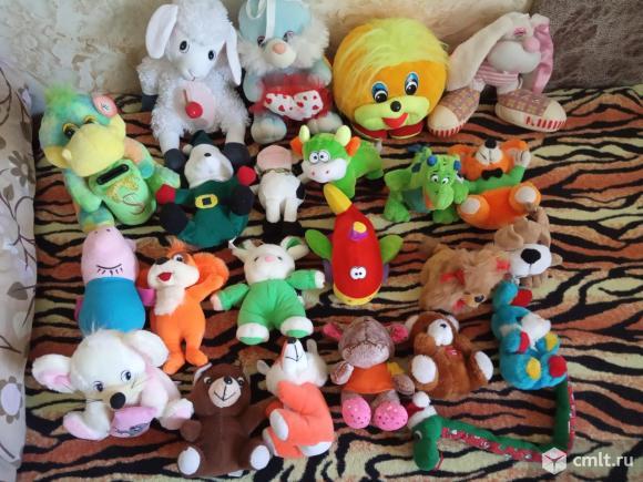 Игрушки мягкие б/у. Фото 1.
