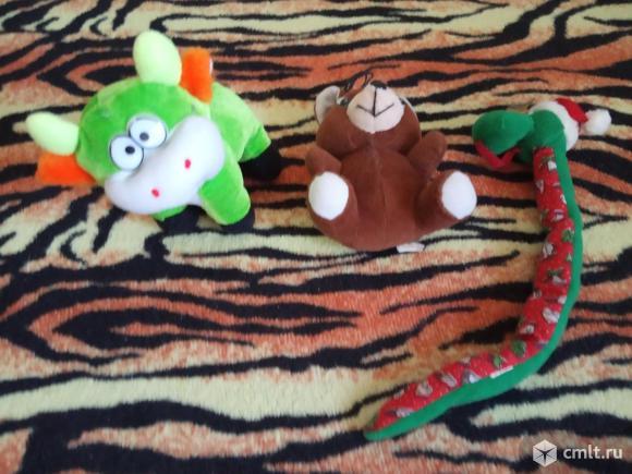 Игрушки мягкие б/у. Фото 4.