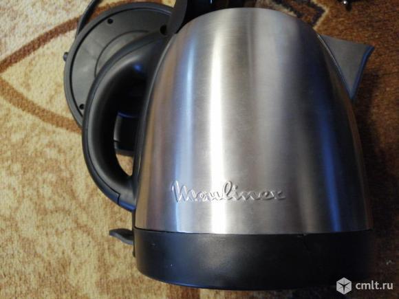Новый, не включается нержавейка  электрочайник Moulinex BY 430. Фото 2.