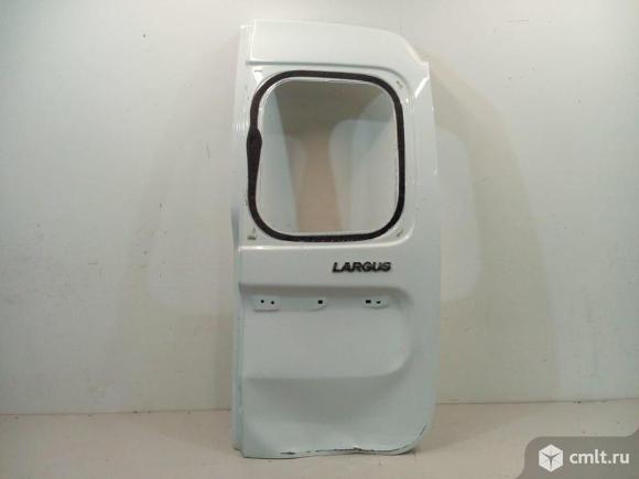 Дверь багажника распашная задняя правая под стекло LADA LARGUS 12- б/у 901005637R 2*. Фото 1.