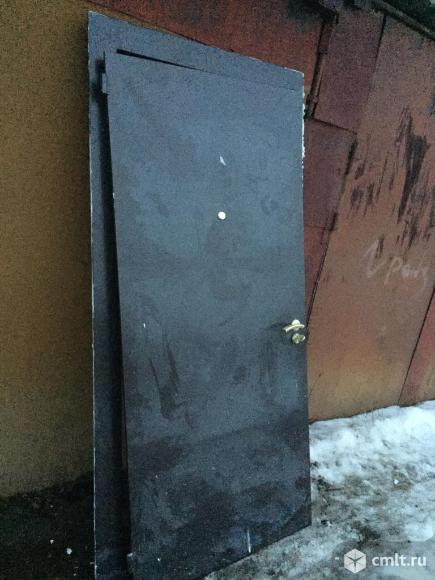 Дверь мет. Входная. Фото 1.