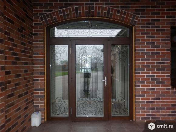 Окна деревянные, дерево-алюминиевые, сосна, лиственница. Фото 1.