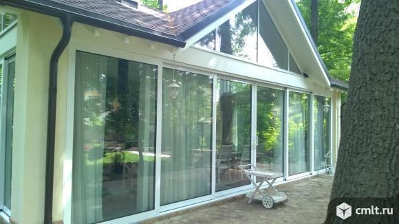 Окна деревянные, дерево-алюминиевые: сосна, лиственница. Фото 8.