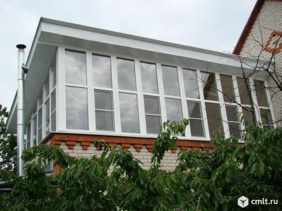 Окна деревянные, дерево-алюминиевые: сосна, лиственница. Фото 1.