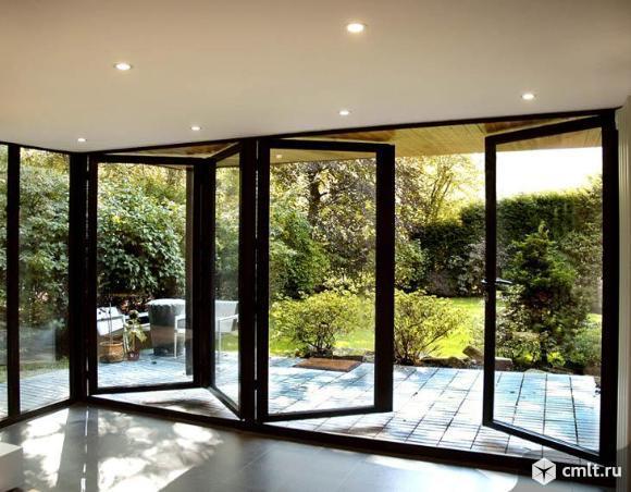 Окна деревянные, дерево-алюминиевые, сосна, лиственница. Фото 8.