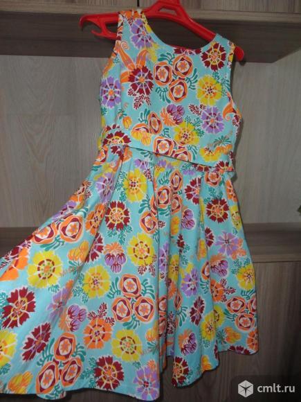 Новое платье-сарафан. Фото 1.