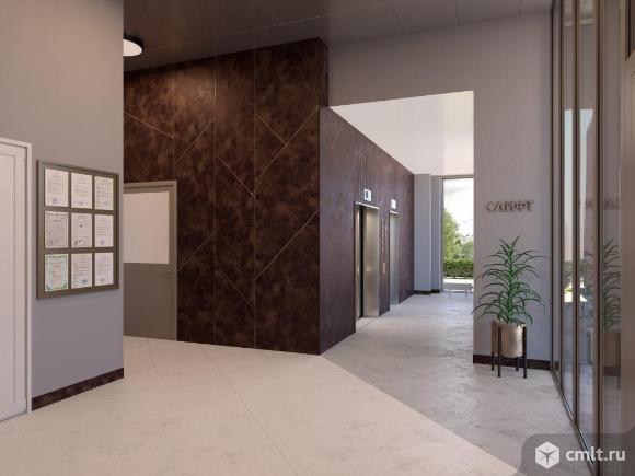 1-комнатная квартира 39,9 кв.м. Фото 9.