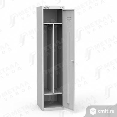 Шкаф для одежды ШРС 11-400 с перегородкой. Фото 2.