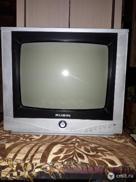 Телевизор кинескопный цв. Rubin. Фото 1.