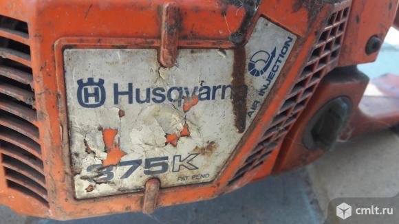 Бензорез Husqvarna 375K. Фото 4.