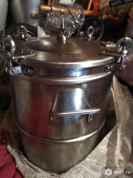 Скороварка 50 литров из нержавейки. Фото 1.