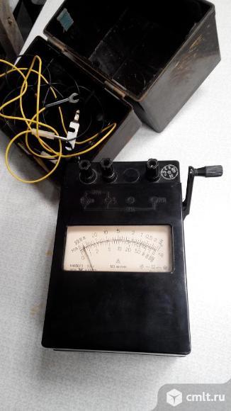 Мегаомметр М4100/3. Фото 1.