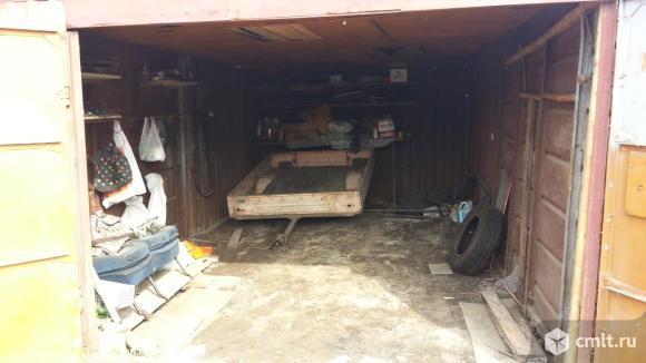 Металлический гараж 22 кв. м Локомотив. Фото 3.