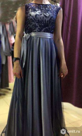 Выпускное вечернее платье. Фото 1.