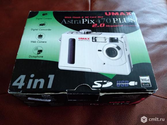 Фотоаппарат цифровой Umax AstraPix 470 Plus. Фото 2.