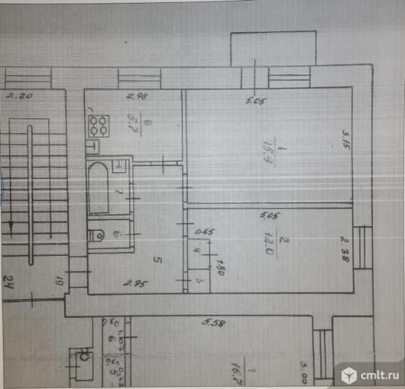 2-комнатная квартира 43,3 кв.м. Фото 20.