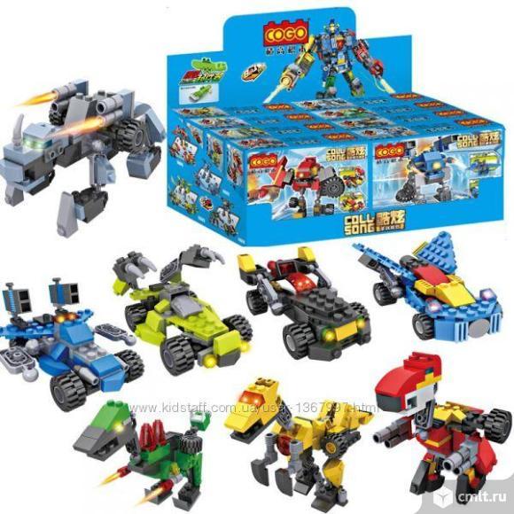 Супер набор роботов-трансформеров. Фото 1.