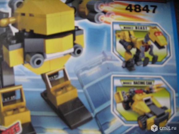 Супер набор роботов-трансформеров. Фото 8.