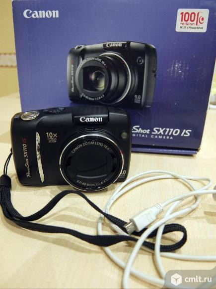 Фотоаппарат цифровой Canon PowerShot SX110 IS. Фото 1.