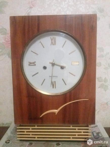 """Настенные часы с боем """"Янтарь СССР.. Фото 1."""