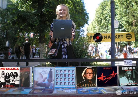 Пластинки ленинградского рока. Фото 1.