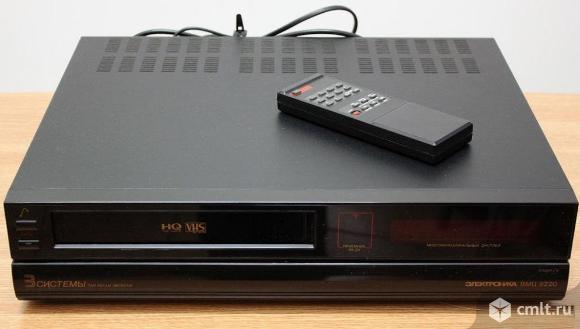 Видеомагнитофон Электроника вмц-8220. Фото 1.