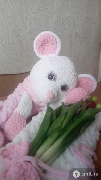 Мышка Зефирка -плюшевое счастье. Фото 3.