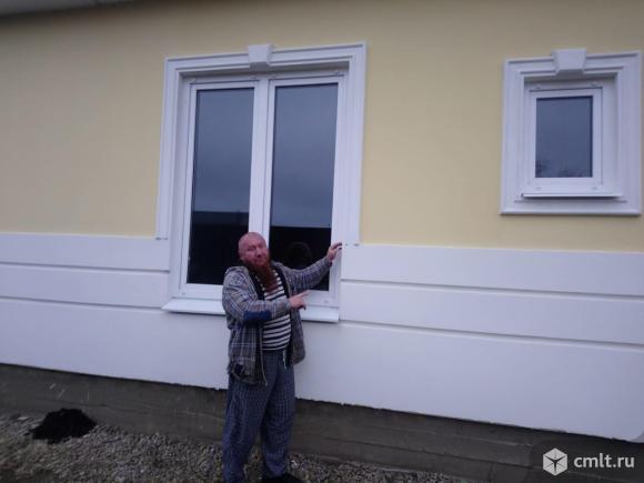 Строительство домов из Деревобетонных Панелей в Каневской. Фото 1.