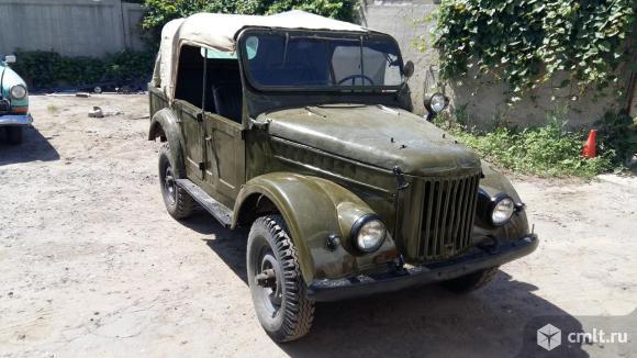 ГАЗ 69 - 1962 г. в.. Фото 1.