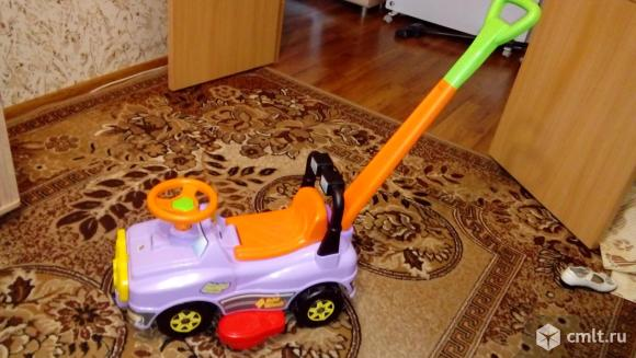 Детская машинка (каталка). Фото 3.