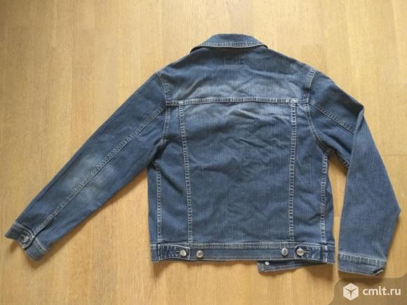 Куртка джинсовая, хлопок, р-р L 44-46 рост 150-165. Фото 2.