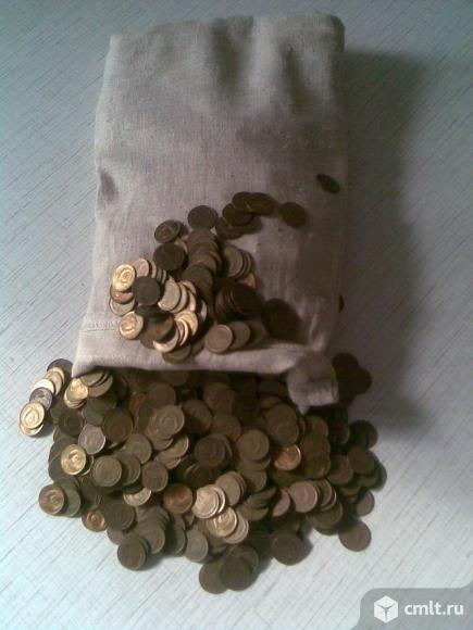 Монеты *ссср 1 копейка* 1970 – 1991 годов. Фото 1.