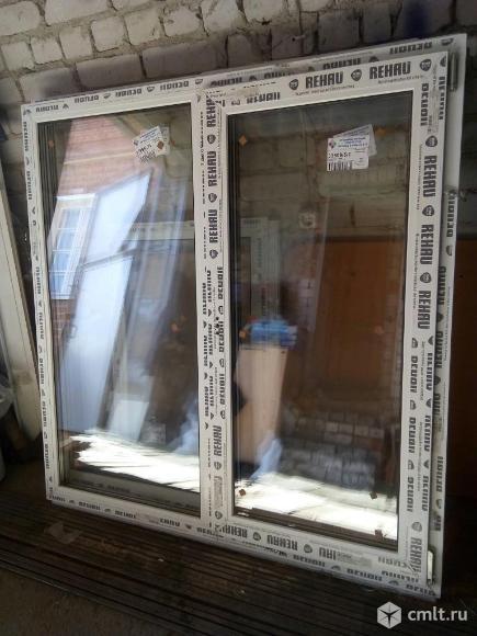 Окна пластиковые Rehau 143*137. Фото 1.