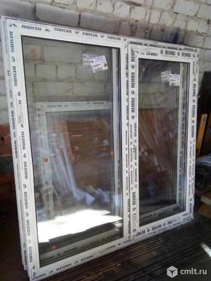 Окна пластиковые Rehau 143*137. Фото 2.