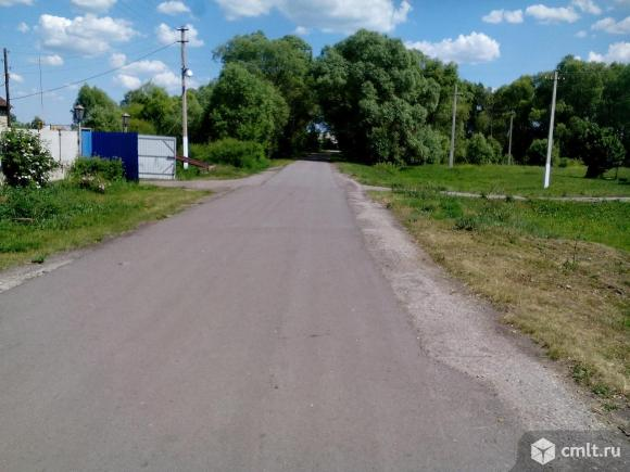 дорога от трассы к дому,асфальт