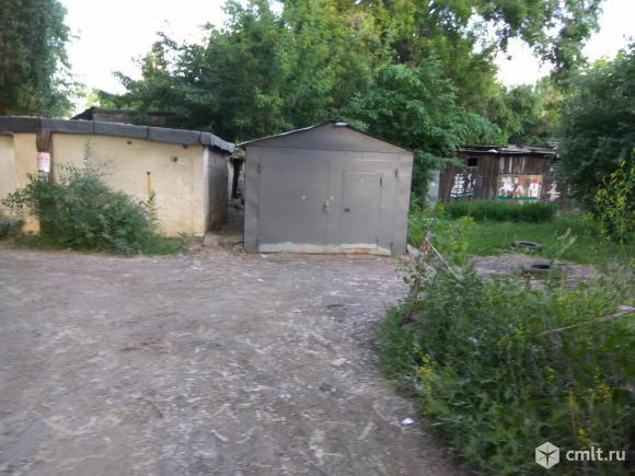 Металлический гараж. Фото 4.