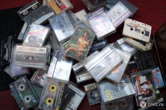 Продам аудиокассеты с записями. Фото 1.