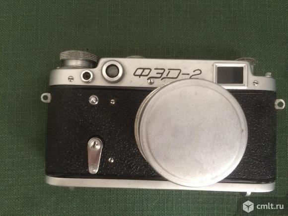 Фотоаппарат ФЭД-2 в рабочем состоянии. Фото 1.