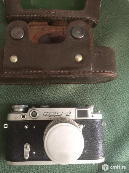 Фотоаппарат ФЭД-2 в рабочем состоянии. Фото 2.