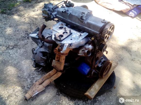 Двигатель с кпп. Фото 4.