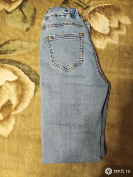 Новые джинсы на резинке. Фото 2.