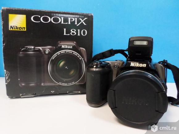 Фотоаппарат цифровой Фотоаппарат Nikon Coolpix L810. Фото 1.