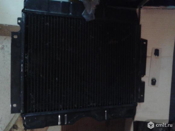 Водяной радиатор для Волга газ 24. Фото 1.