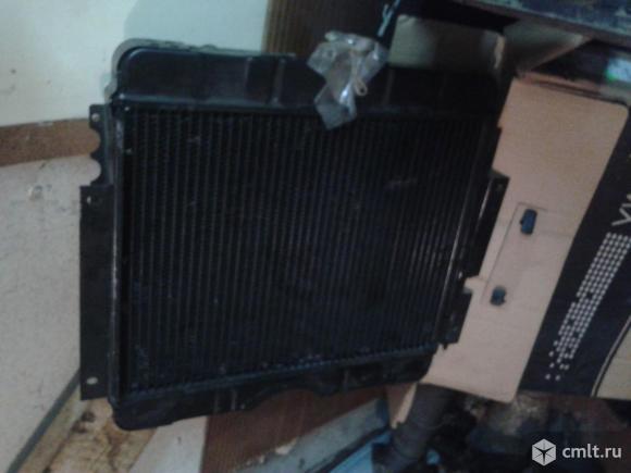 Водяной радиатор для Волга газ 24. Фото 2.