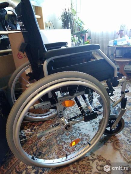 Инвалидная кресло коляска прогулочная новая. Фото 4.