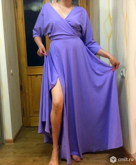 Вечернее платье в пол. Фото 1.