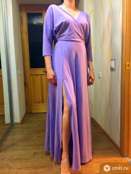 Вечернее платье в пол. Фото 3.