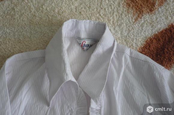 Школьные белые блузки. Фото 15.