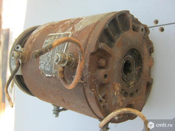 Электродвигатель постоянного тока. Фото 1.